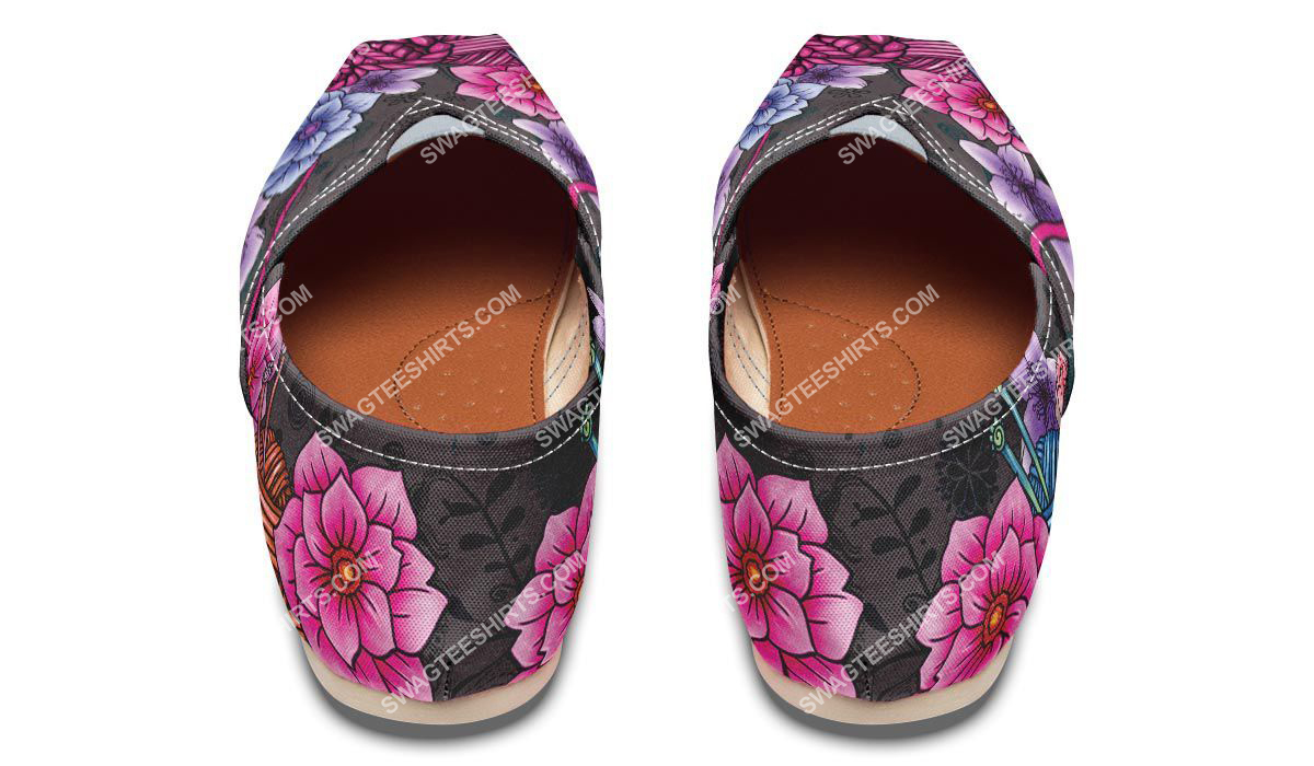 floral knitting vintage all over printed toms shoes 3(1)