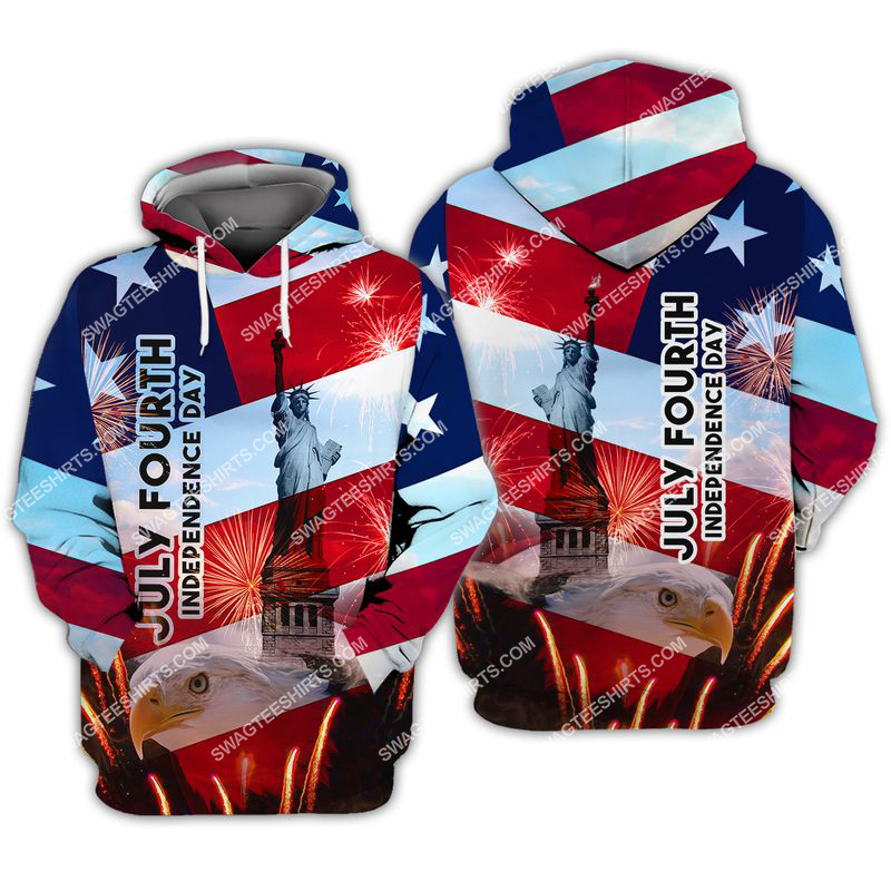 happy independence day united states full print hoodie 1