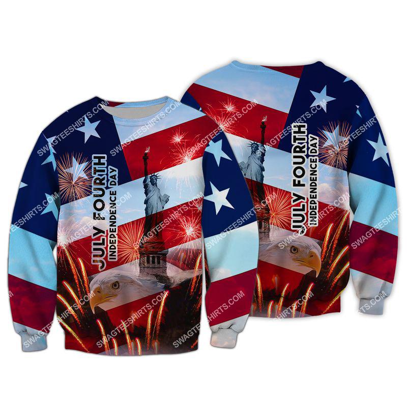 happy independence day united states full print sweatshirt 1