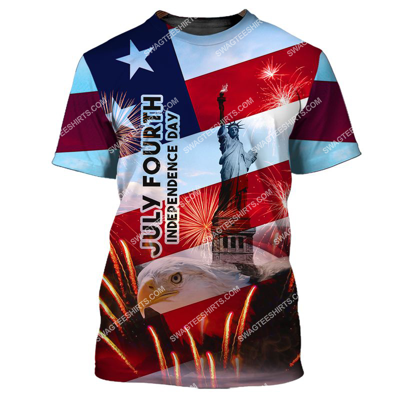 happy independence day united states full print tshirt 1
