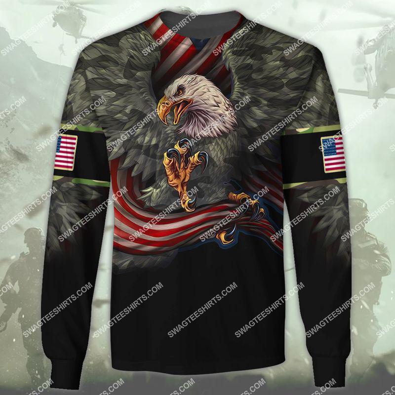 i am a grumpy old veteran i served i sacrificed veterans day full print sweatshirt 1