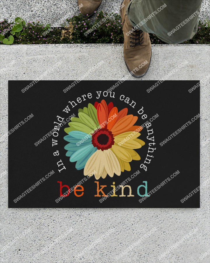 in a world where you can be anything be kind full print doormat 4(1)