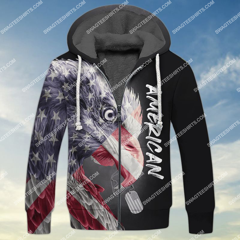 memorial day in the united states full print fleece hoodie 1