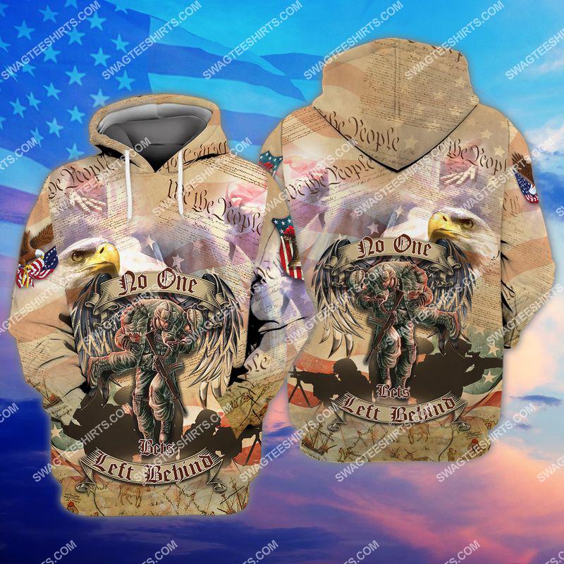 no veteran left behind veterans day full print hoodie 1