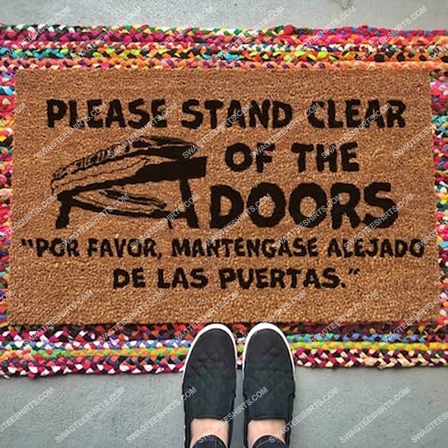 please stand clear of the door full print doormat 2(2) - Copy
