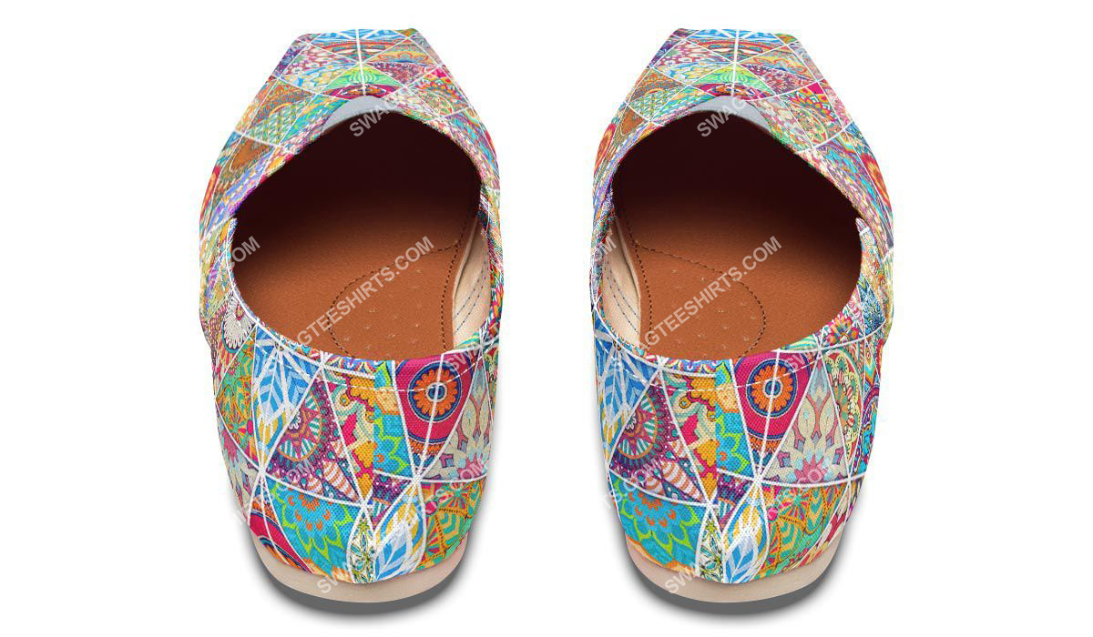 retro bohemian pattern all over printed toms shoes 3(1)