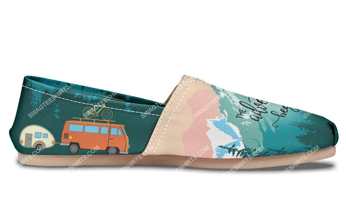 retro the adventure begins camping all over printed toms shoes 4(1)