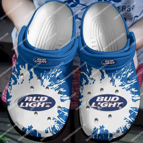 the bud light beer all over printed crocs 2