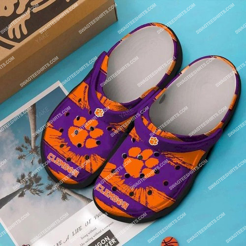 the clemson tigers all over printed crocs 2