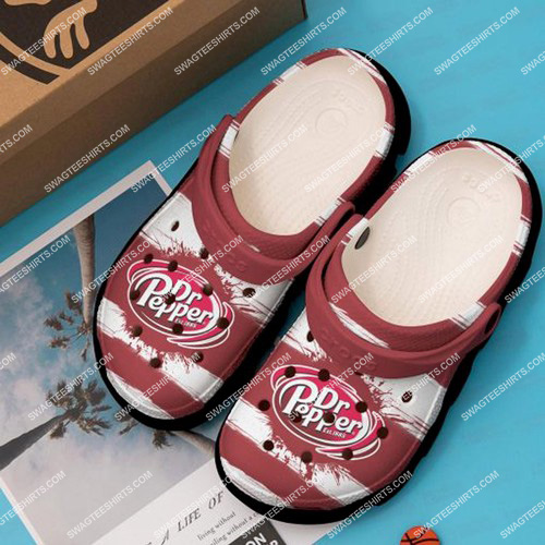 the dr pepper all over printed crocs 2