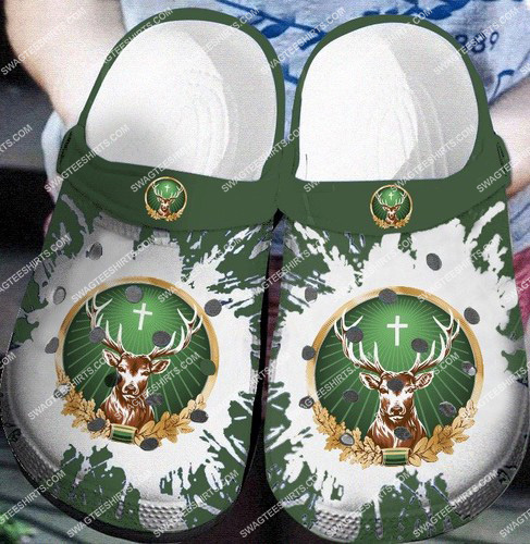 the jagermeister all over printed crocs 2
