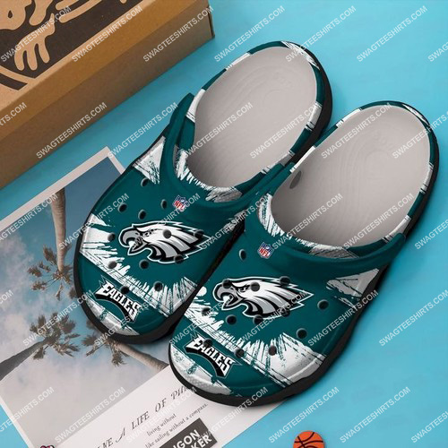 the philadelphia eagles all over printed crocs 2 - Copy