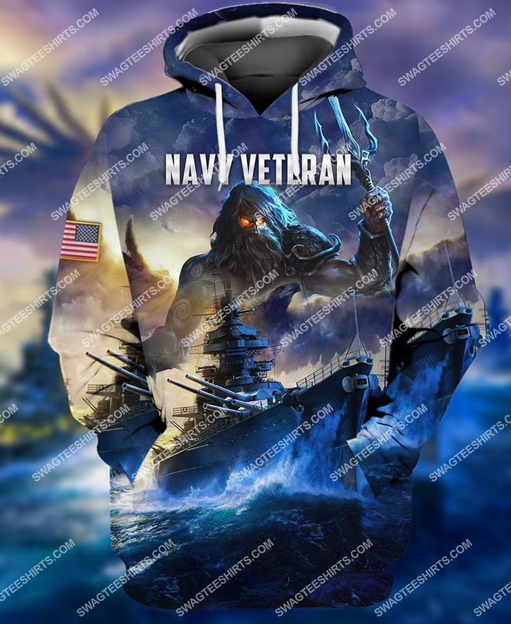 united states navy veteran battleship full print hoodie 1