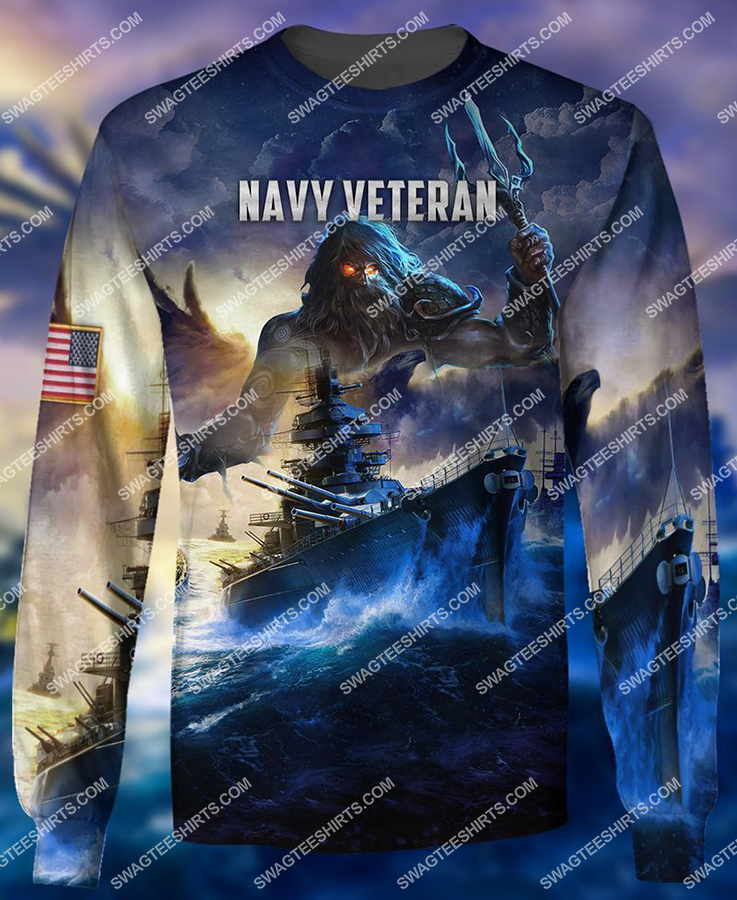united states navy veteran battleship full print sweatshirt 1