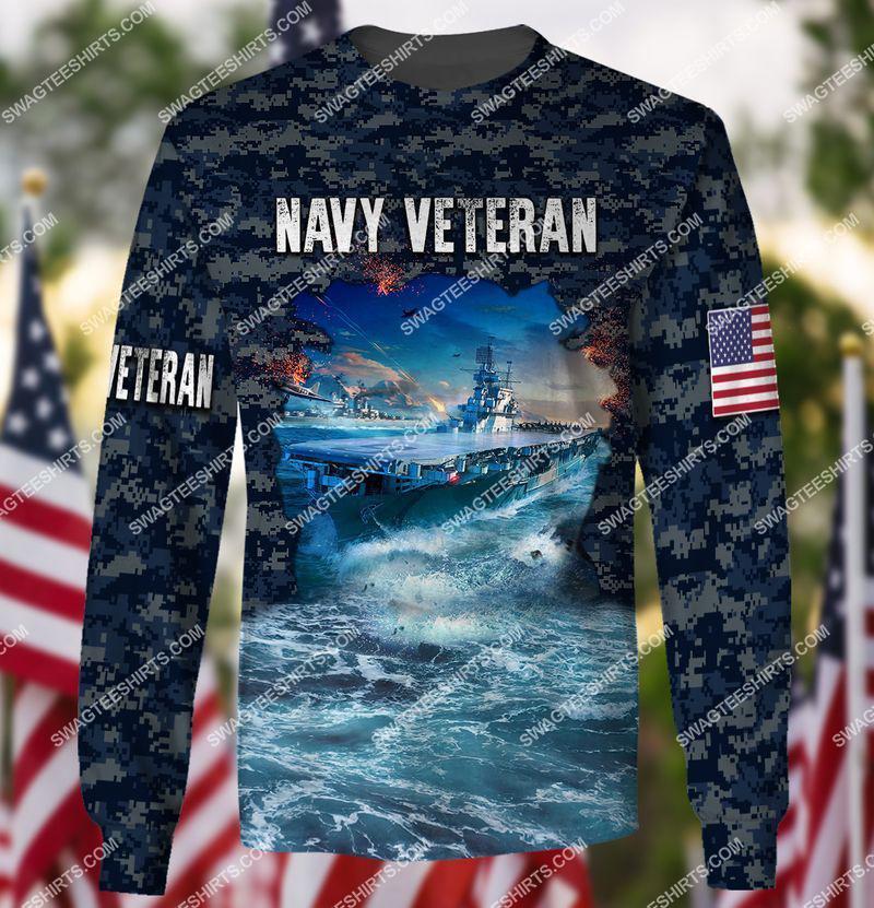 united states navy veteran battleship ocean full print sweatshirt 1