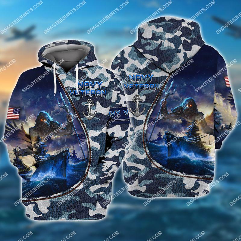 united states navy veteran camo full print hoodie 1