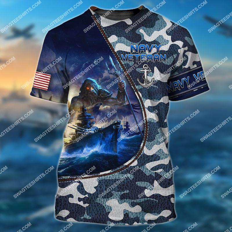 united states navy veteran camo full print tshirt 1