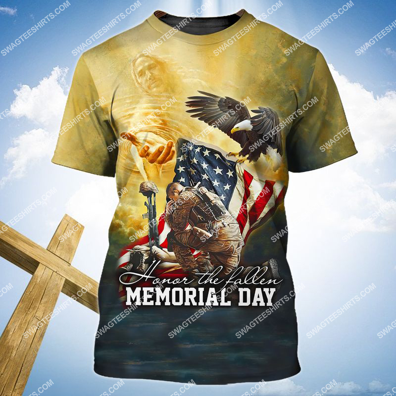 veterans day we don't know them all but we owe them all full print tshirt 1