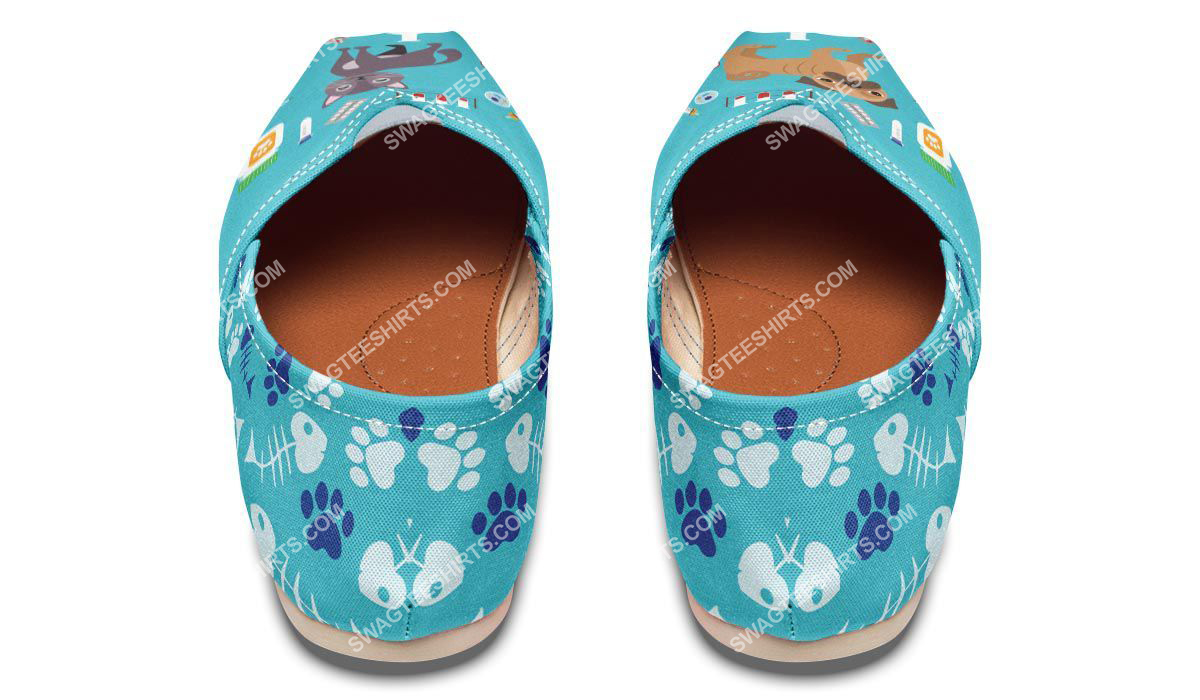 veterinarian dogs and cats lover all over printed toms shoes 3(1)