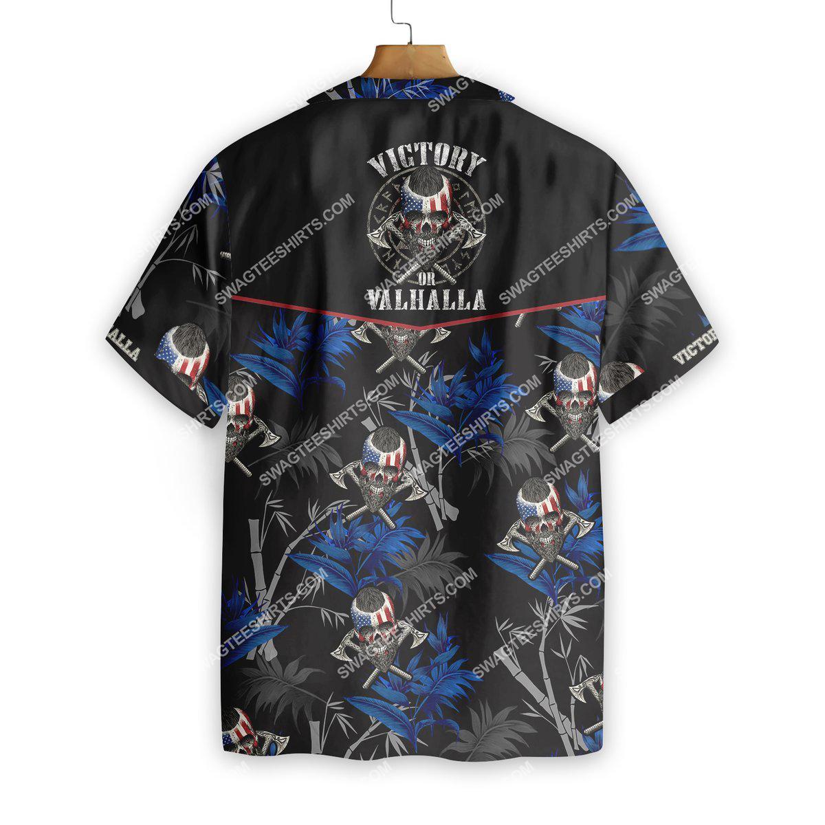 victory or valhalla viking all over printed hawaiian shirt 3(1)