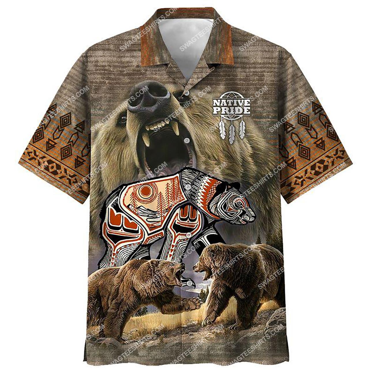 vintage native american native pride all over printed hawaiian shirt 1(1)