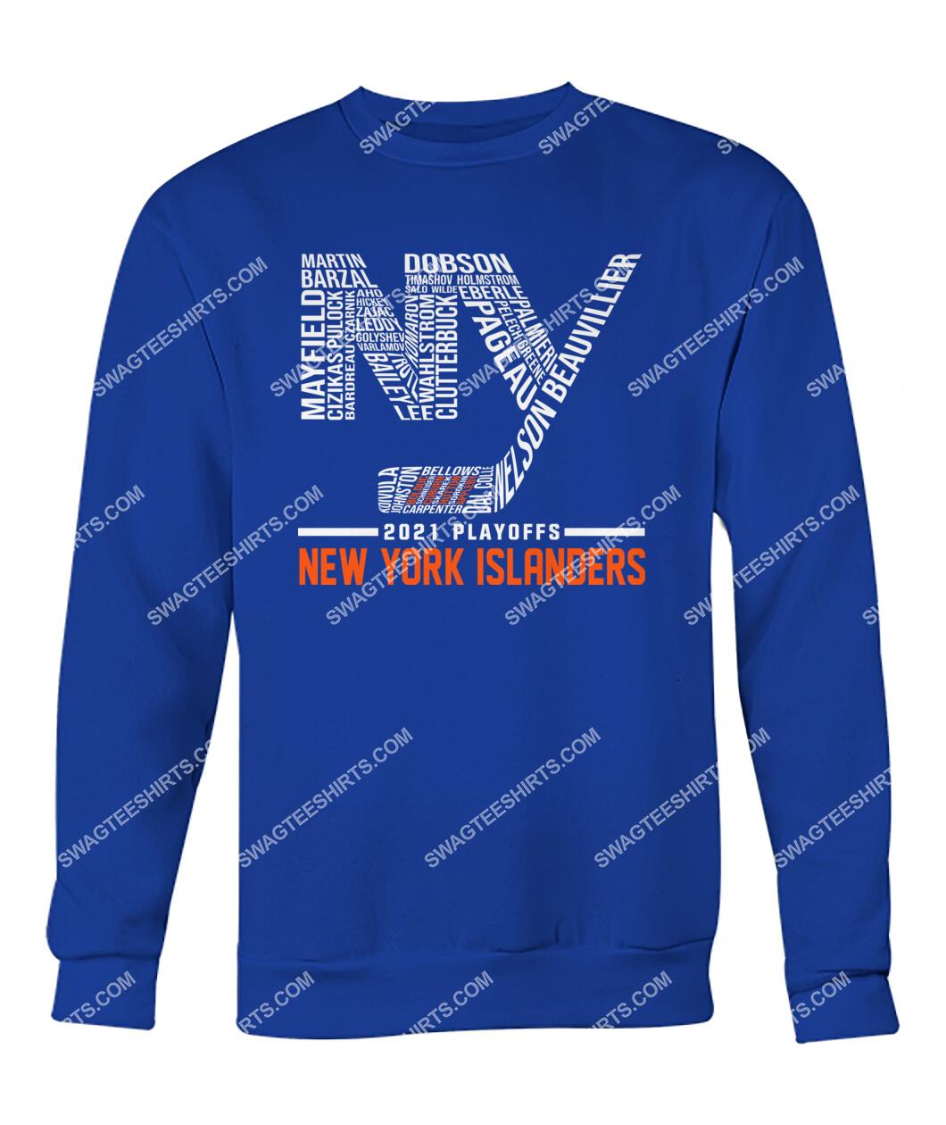2021 playoffs new york islanders national hockey league sweatshirt 1