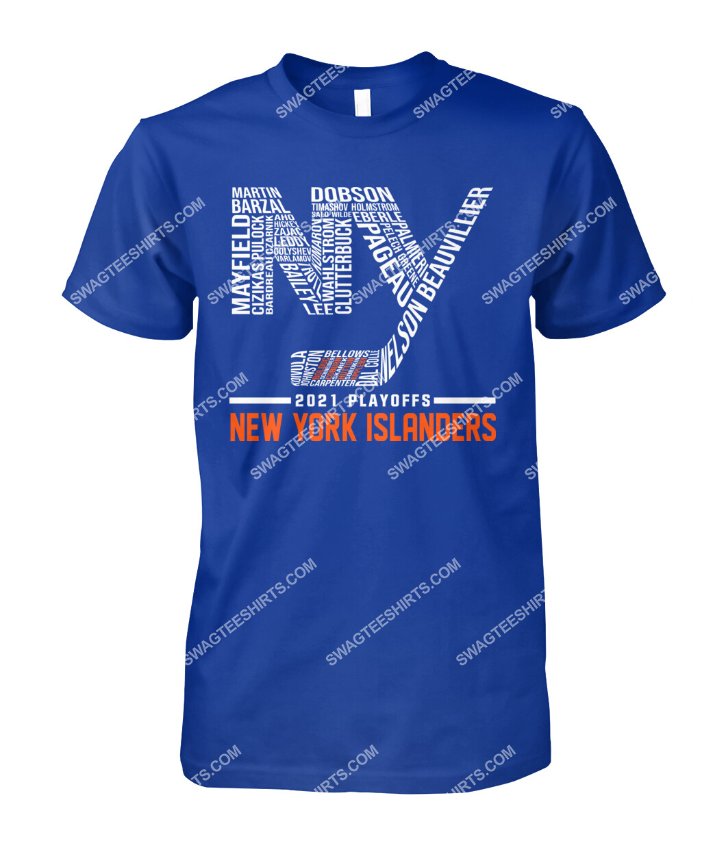 2021 playoffs new york islanders national hockey league tshirt 1