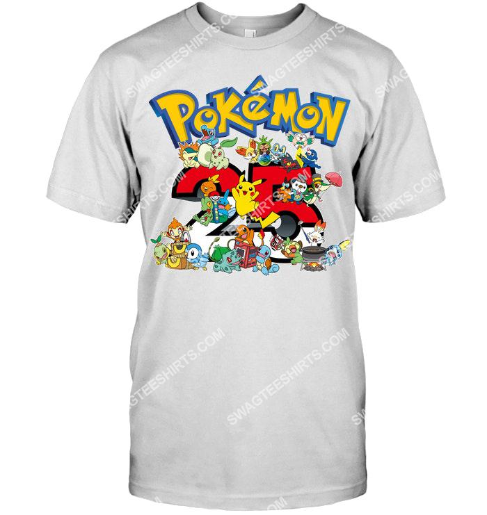 25th anniversary pokemon lover shirt 2(1)