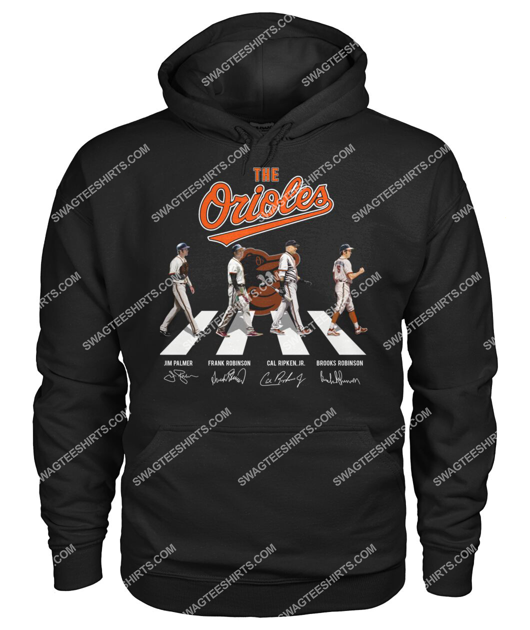 abbey road the baltimore orioles signatures hoodie 1