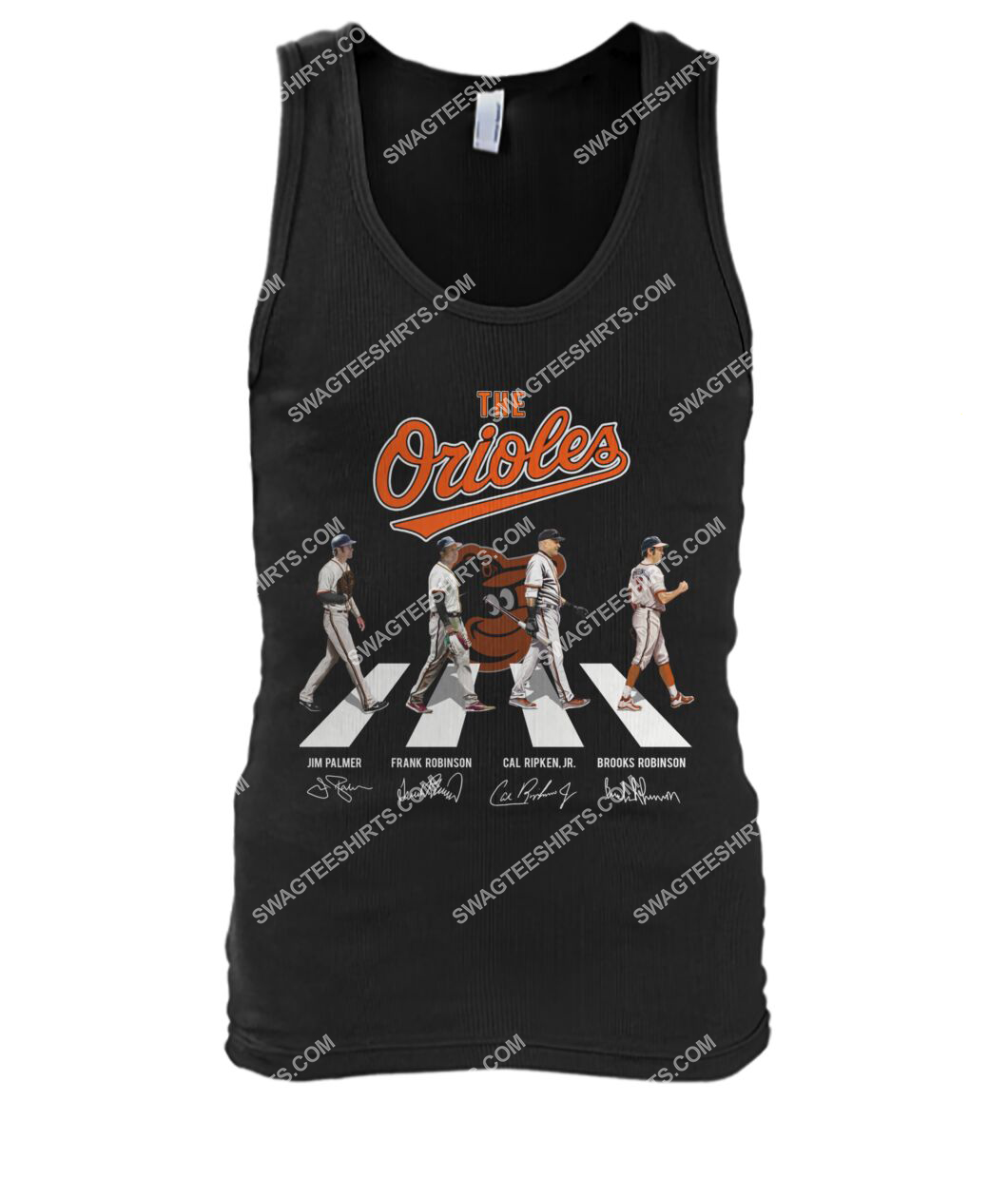 abbey road the baltimore orioles signatures tank top 1
