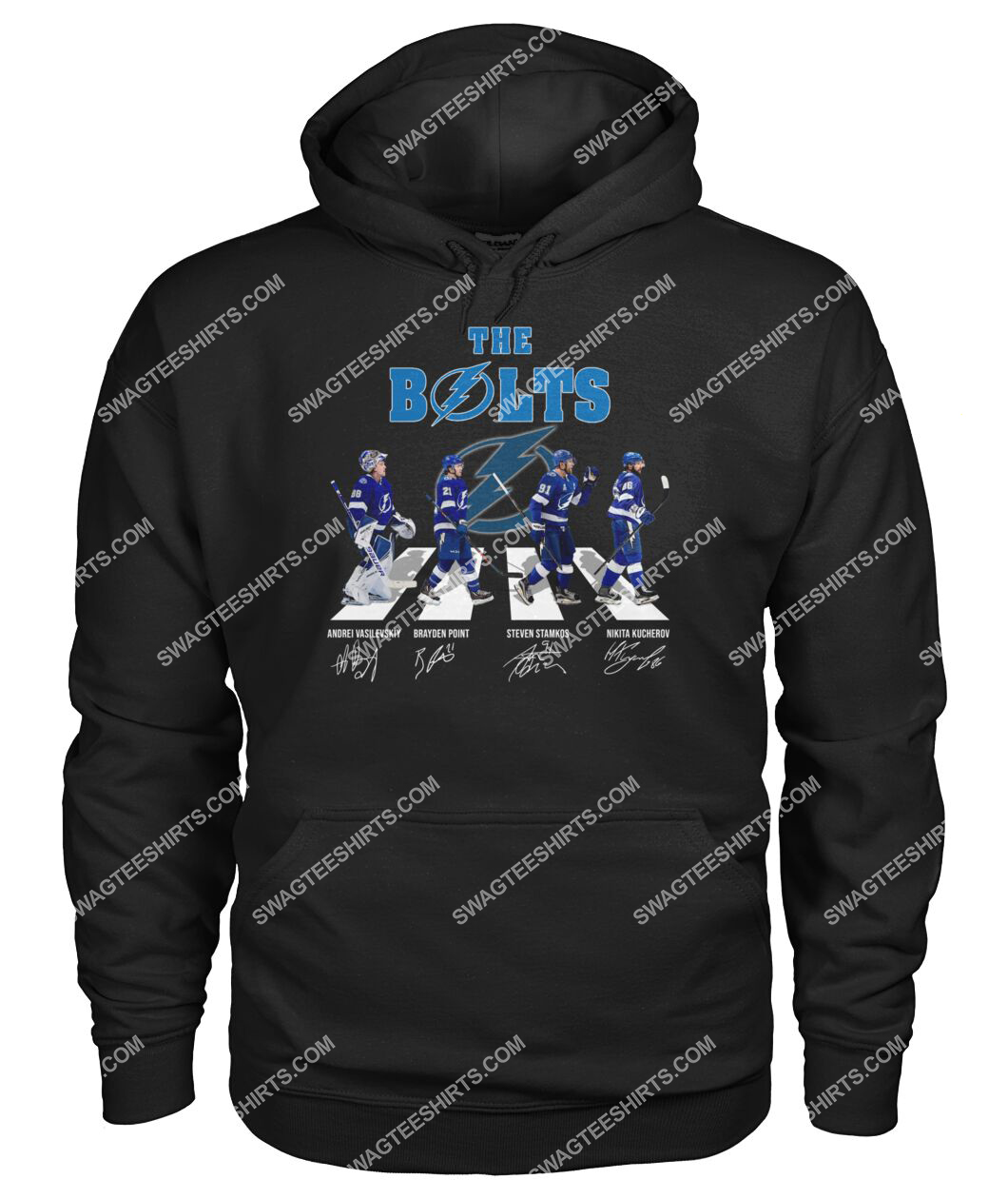 abbey road the bolts tampa bay lightning signatures hoodie 1