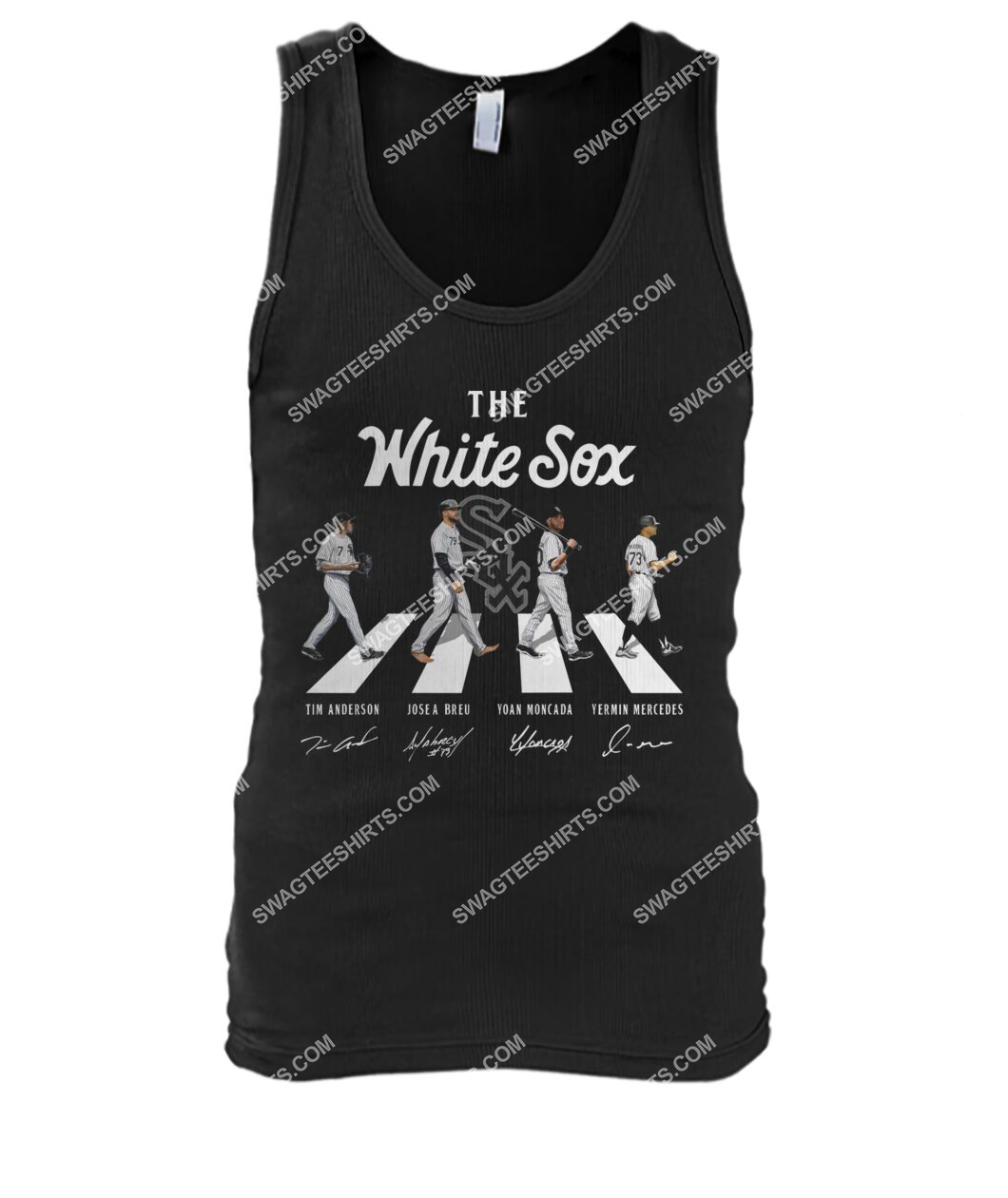 abbey road the chicago white sox signatures tank top 1