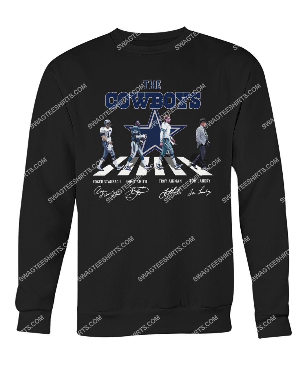 abbey road the dallas cowboys signatures sweatshirt 1