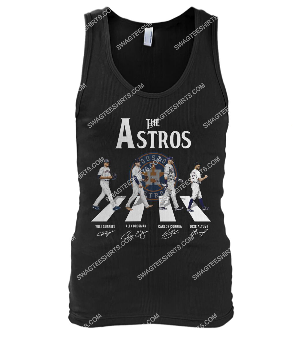 abbey road the houston astros signatures tank top 1