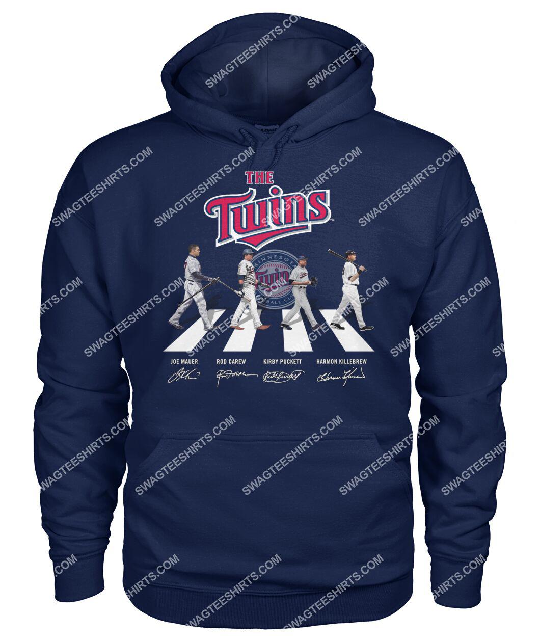abbey road the minnesota twins signatures hoodie 1