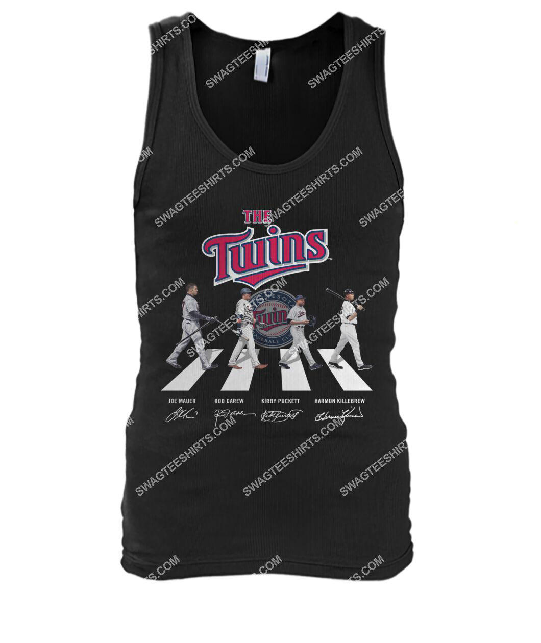 abbey road the minnesota twins signatures tank top 1