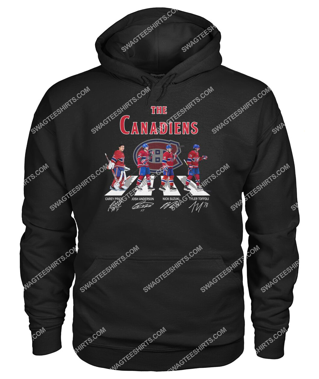 abbey road the montreal canadiens signatures hoodie 1