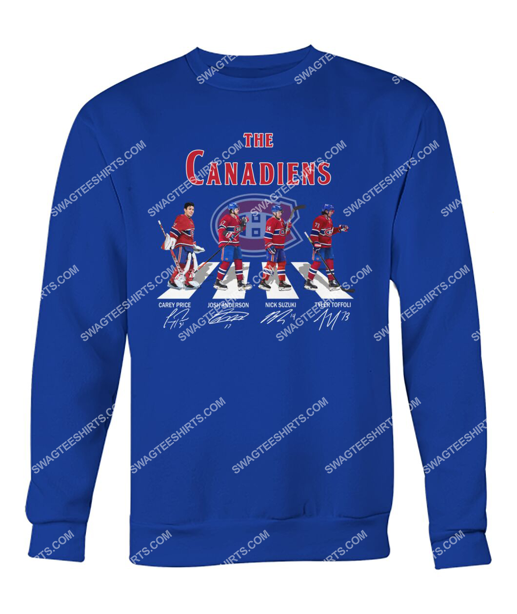 abbey road the montreal canadiens signatures sweatshirt 1