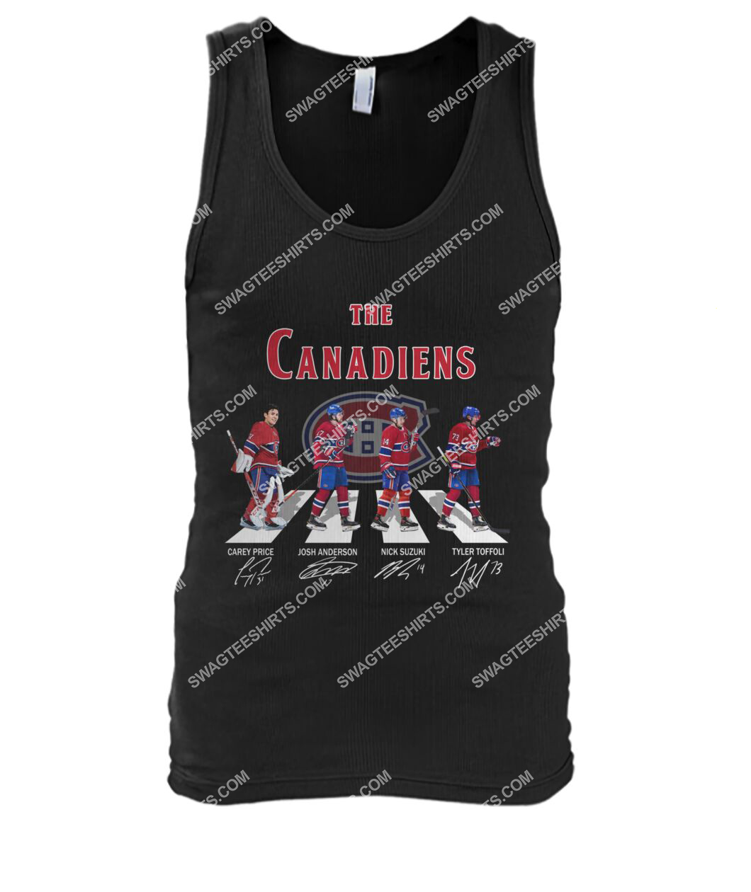 abbey road the montreal canadiens signatures tank top 1