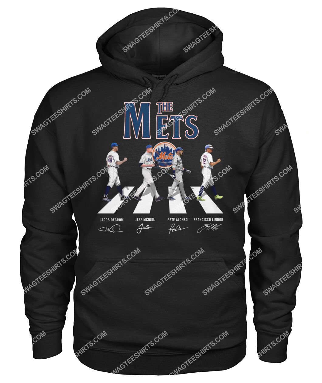 abbey road the new york mets signatures hoodie 1