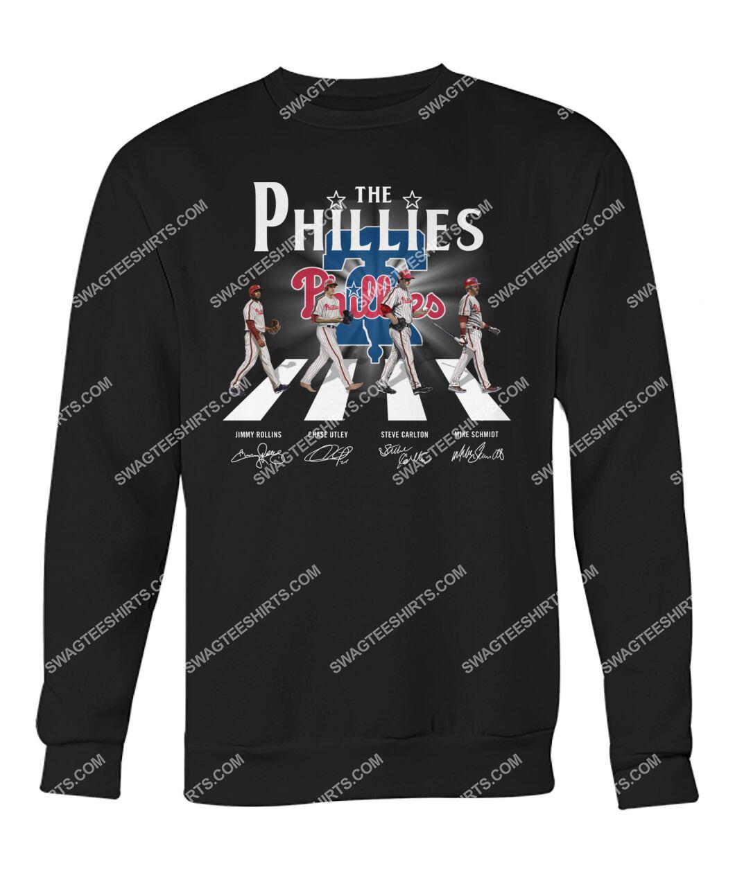 abbey road the philadelphia phillies signatures sweatshirt 1