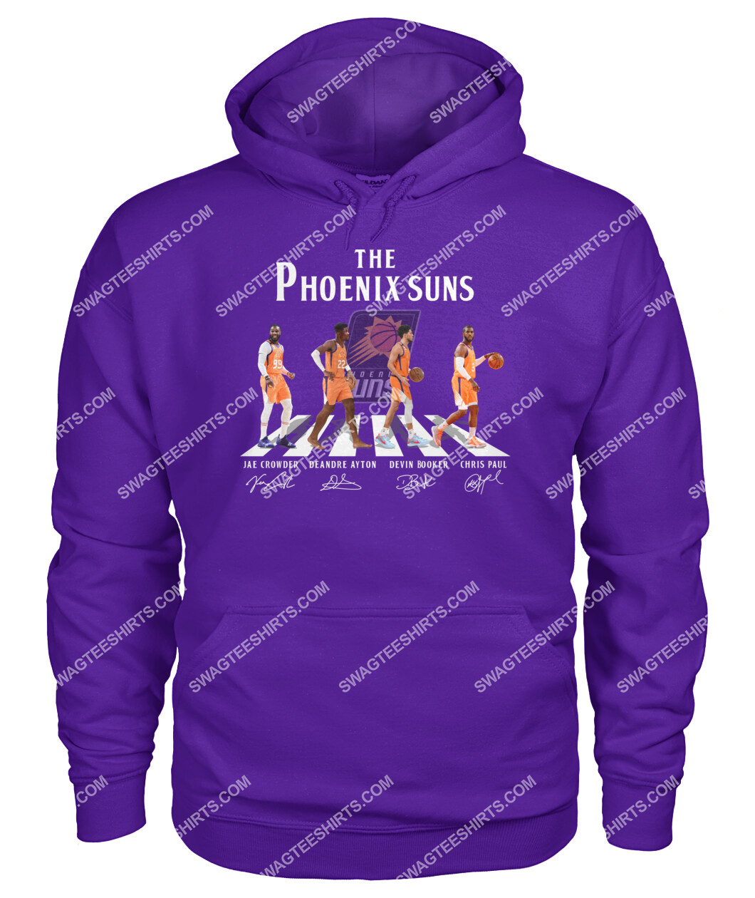 abbey road the phoenix suns signatures hoodie 1