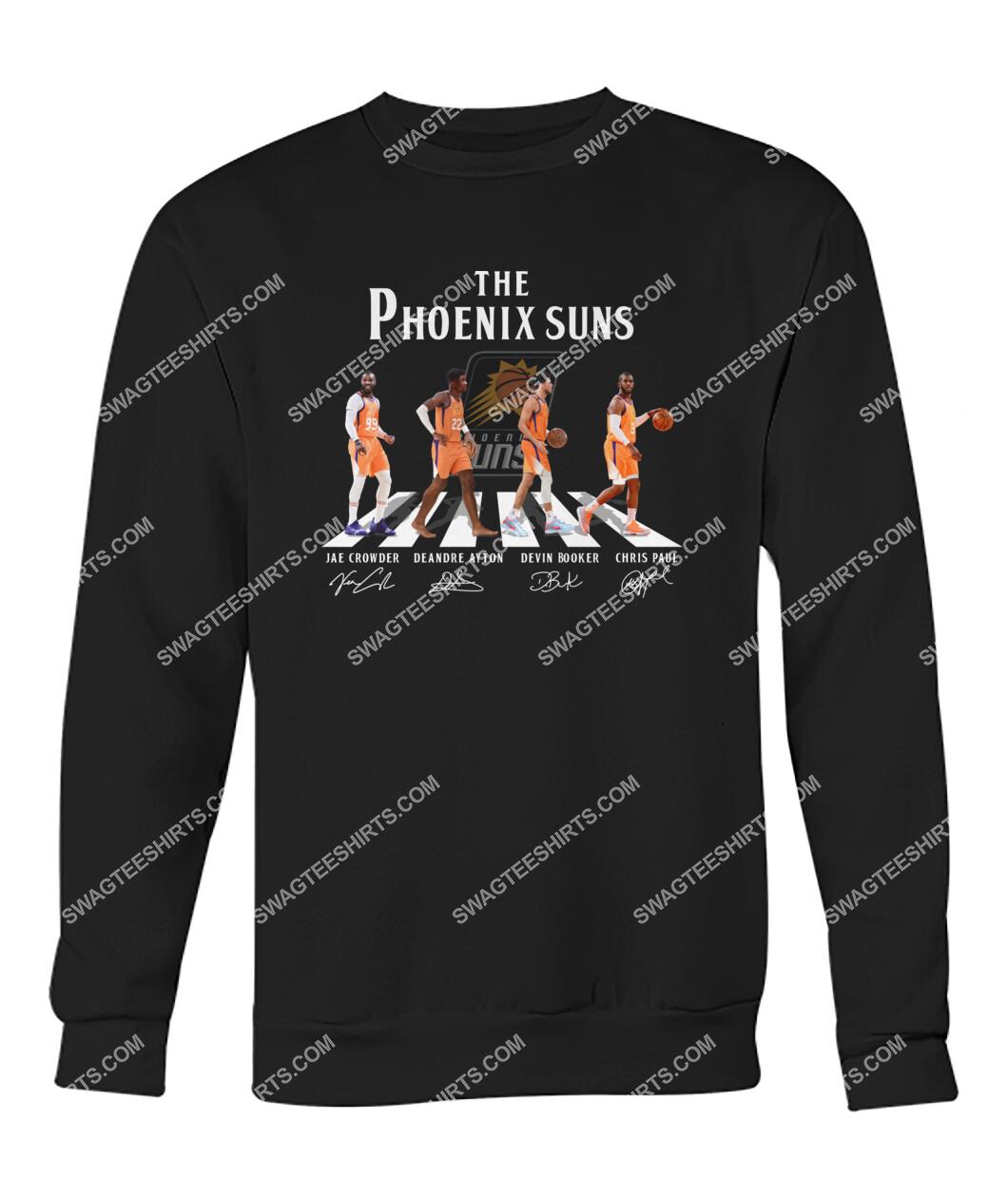 abbey road the phoenix suns signatures sweatshirt 1