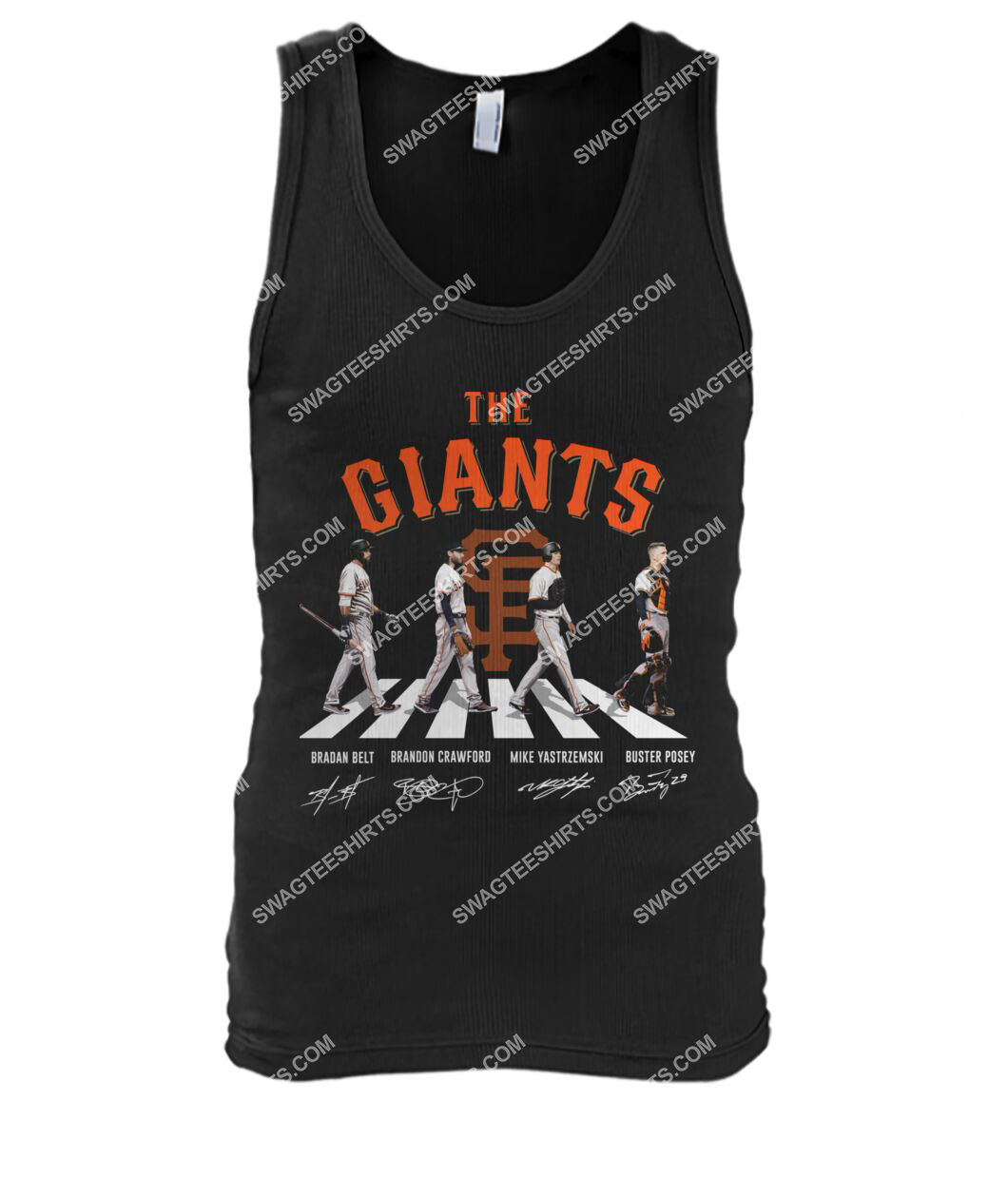 abbey road the san francisco giants signatures tank top 1