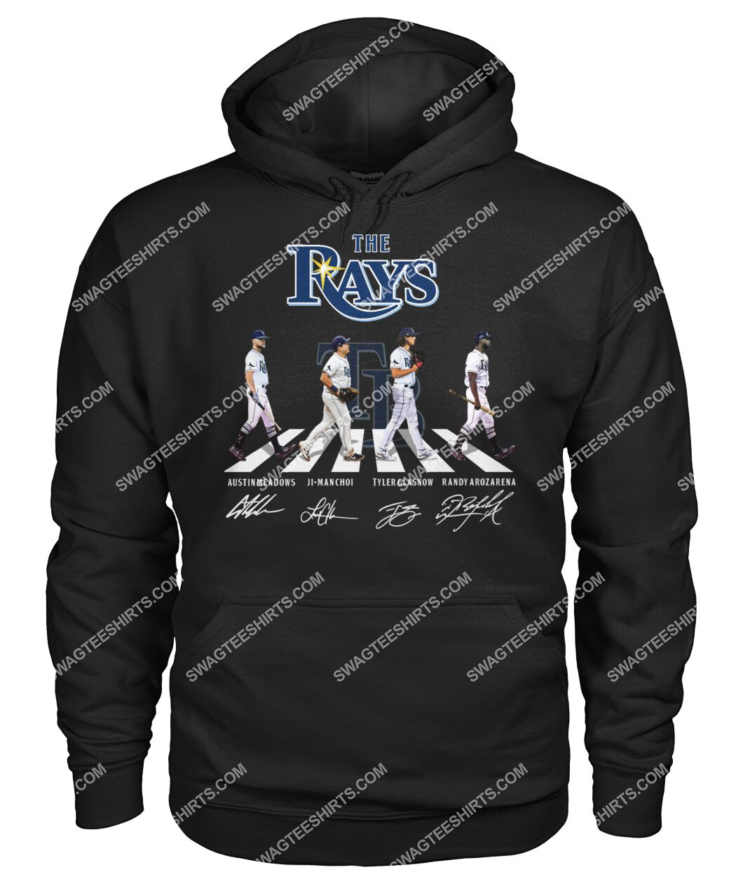 abbey road the tampa bay rays signatures hoodie 1