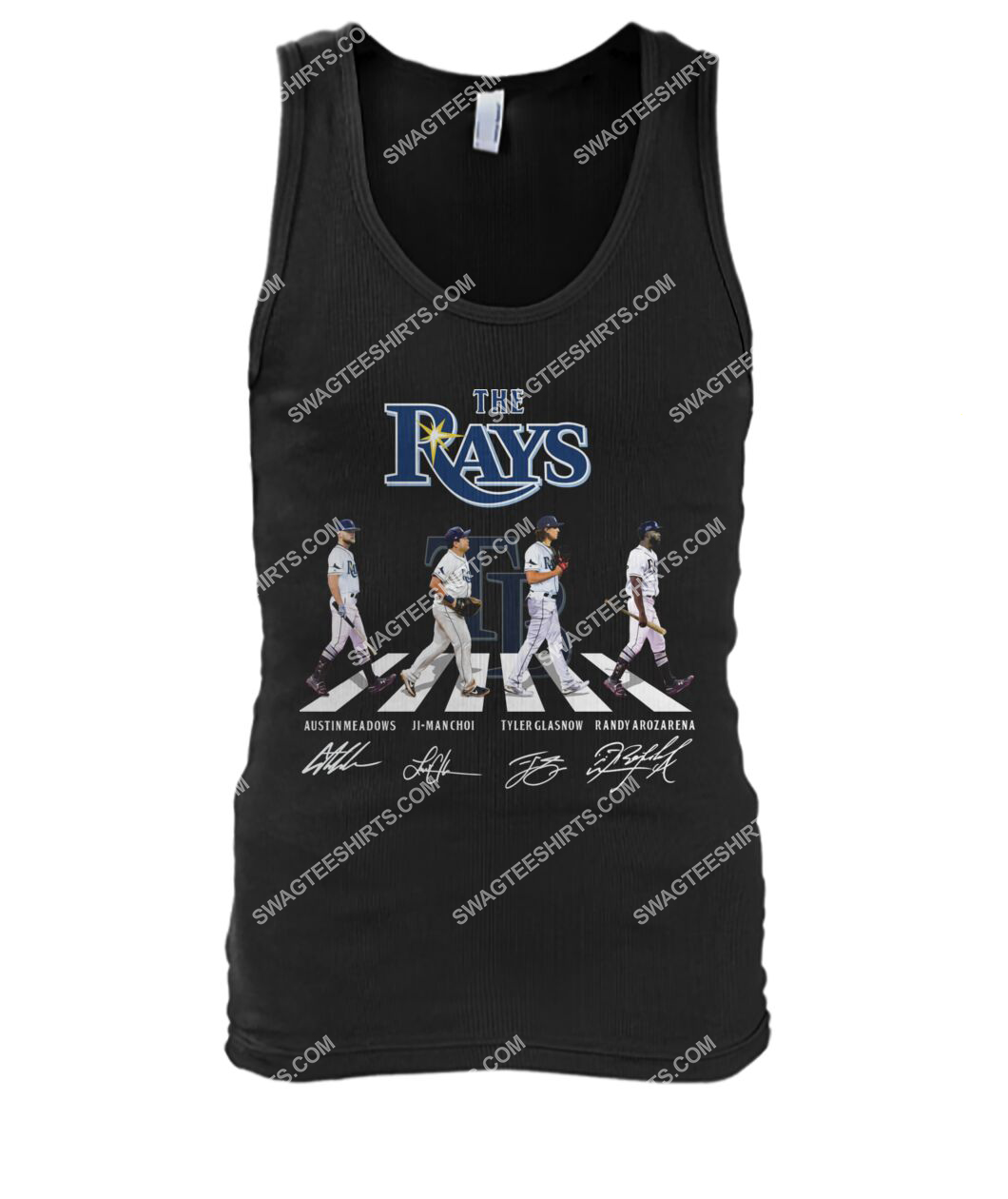 abbey road the tampa bay rays signatures tank top 1