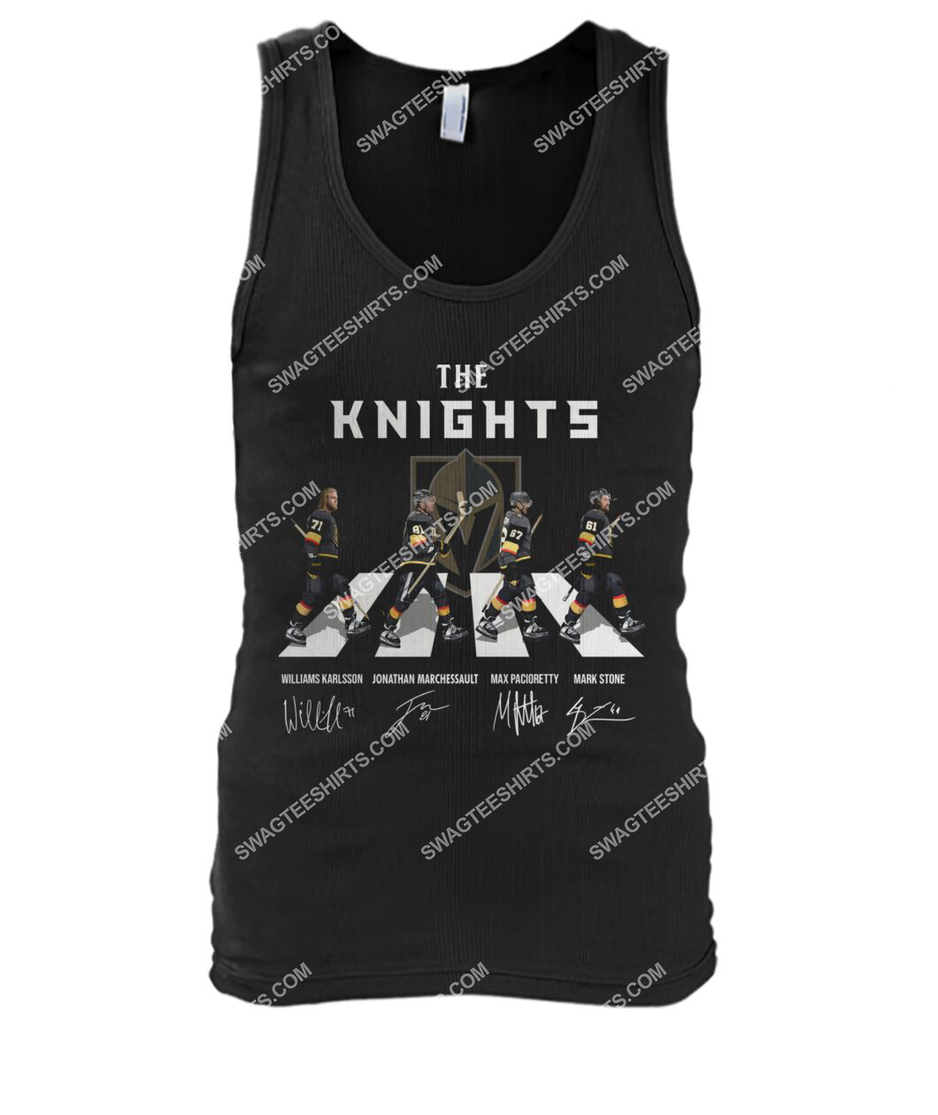 abbey road the vegas golden knights signatures tank top 1