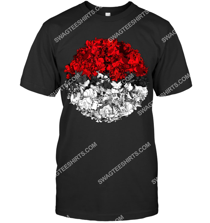 all pokemon in ball pokemon go shirt 4(1)