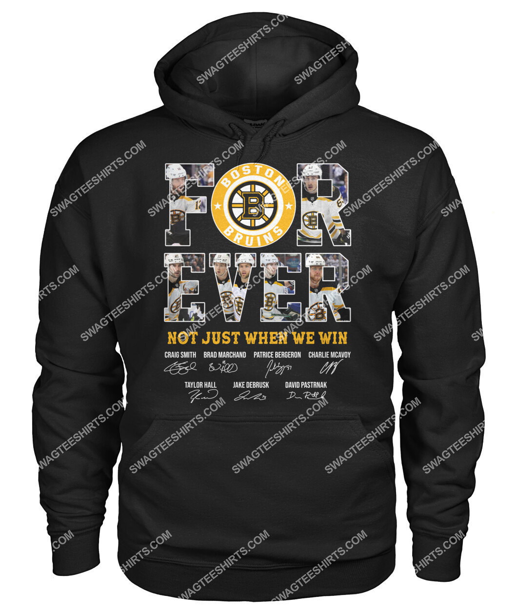 forever not just when we win nhl boston bruins signatures hoodie 1