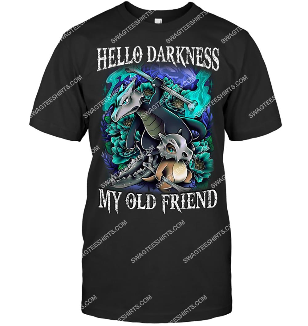 hello darkness my old friend pokemon with dragon-type shirt 5(1)